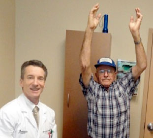 Endoscopic Carpal Tunnel Release Treats Charles' Left Shoulder Arthritis and Rotator Cuff Tear