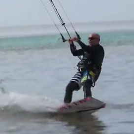 Harry Kiteboards 3 Weeks After Dr. Bruce Steinberg Performs Carpal Tunnel and Elbow Surgery